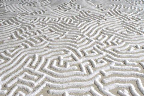 Labirintos de sal: artista cria obras incríveis com as próprias mãos