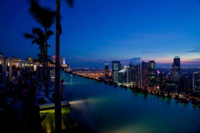 Marina Bay Sands: o hotel que causa vertigem