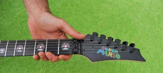 Fã de Mario? Agora você pode tocar a musiquinha em uma guitarra exclusiva