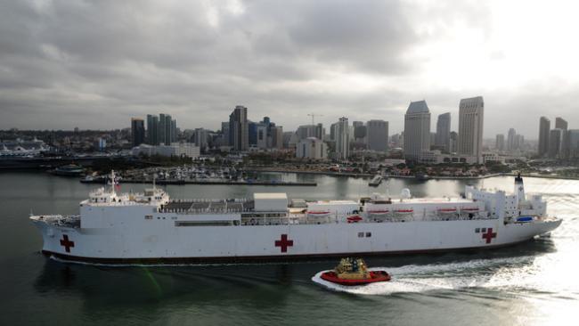Conheça os maiores navios-hospitais do mundo