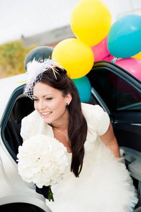 Casamento criativo teve como tema o sistema de cores CMYK