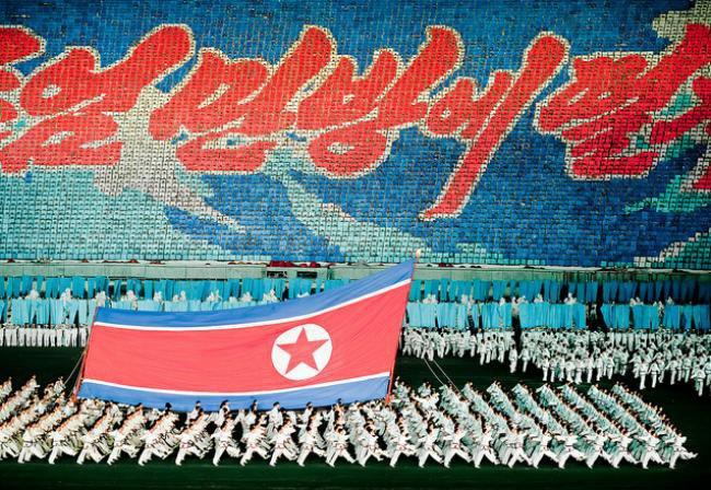Os fantásticos mosaicos humanos da Coreia do Norte [galeria]
