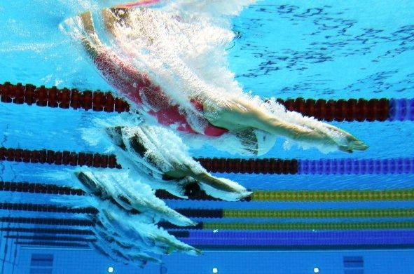 Londres 2012: câmera aquática mostra novos ângulos dos atletas [galeria]