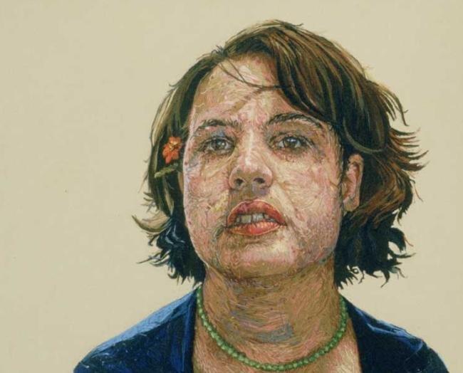 Artista cria incríveis retratos feitos de bordado [galeria]