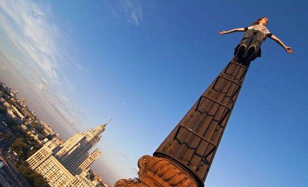 Skywalker: nova modalidade de fotografia para quem não tem medo de altura