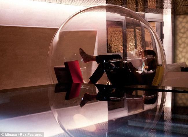 Que tal descansar dentro de um casulo modular? [vídeo]