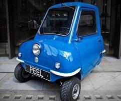 Conheça o Peel P50, o menor carro do mundo