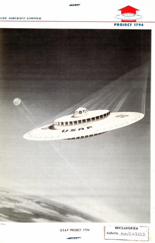 Disco voador? Os EUA tentaram construir um, mas não deu muito certo