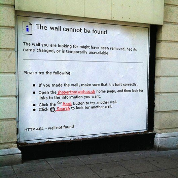 Arte de rua leva os computadores para os muros