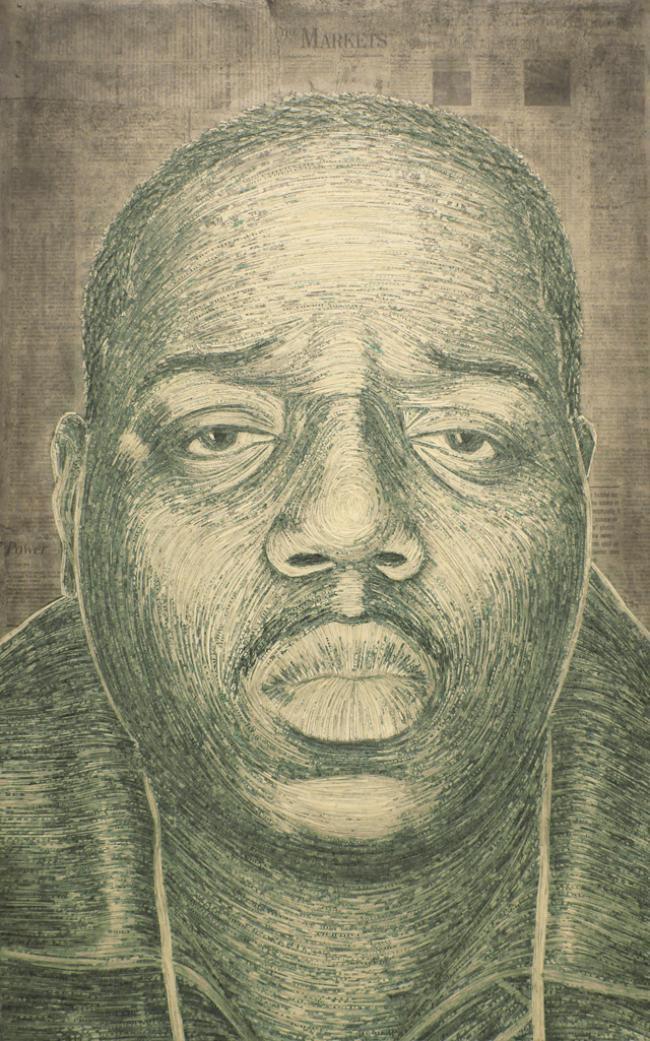 Artista cria arte com dinheiro picotado [galeria]