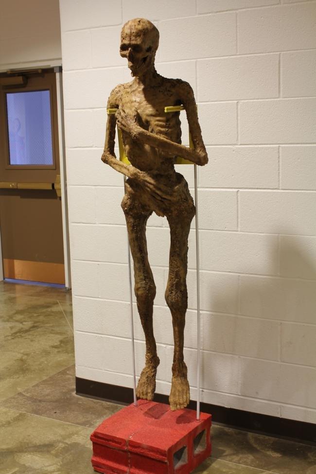 Artista cria múmia feita com lanches do McDonald´s