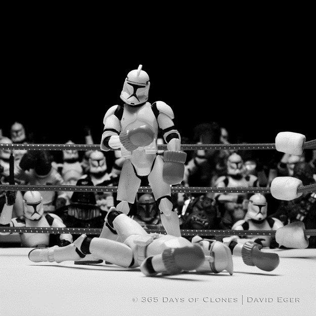 Fotos históricas são recriadas com brinquedos de Star Wars