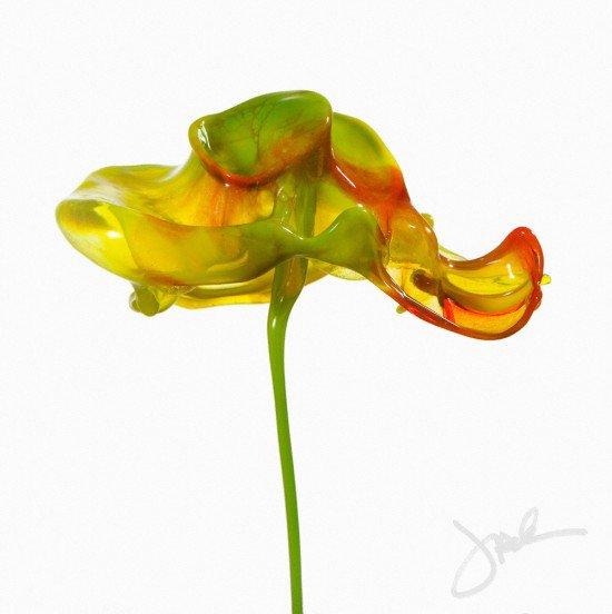 Conheça as incríveis flores de tinta [galeria]